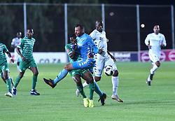 SOUTH AFRICA: GAUTENG: Bidvest Wits goalkeeper Darren Keet clash with Bloemfontein Celtic player Victor Letsoalo during the Absa Premiership at Bidvest Stadium Gauteng.<br />816<br />10.11.2018<br />Picture: Itumeleng English/African News Agency (ANA)