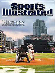 Barry Bonds hits #755, Sports Illustrated, 2007