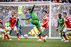 June 14, 2018 - Moscow, Russia - 2018 FIFA World CUP Russia - Saudi Arabia 5-0 at Luzhniki stadium, Moscow, Russia  (Credit Image: © Orre Pontus/Aftonbladet/IBL via ZUMA Wire)