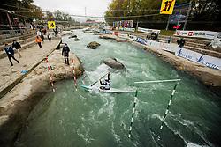Canoe Semi Finals at World Cup Tacen, 18 October 2020, Tacen, Ljubljana Slovenia. Photo by Grega Valancic / Sportida