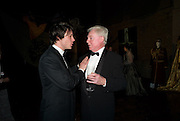 RUPERT EVANS; DEREK JACOBI, The Royal Shakespeare Company (Stratford) fundraising dinner and auction to benefit company's Artists' Development Programme. Lawrence Hall, Greycoat St. London. 28 October 2008 *** Local Caption *** -DO NOT ARCHIVE-© Copyright Photograph by Dafydd Jones. 248 Clapham Rd. London SW9 0PZ. Tel 0207 820 0771. www.dafjones.com.