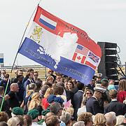NLD/Terneuzen/20190831 - Start viering 75 jaar vrijheid, Bevrijdingsvlag