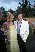 Paris Hilton and Paris Latsis. The Serpentine Summer party co-hosted by Jimmy Choo. The Serpentine Gallery. 30 June 2005. ONE TIME USE ONLY - DO NOT ARCHIVE  © Copyright Photograph by Dafydd Jones 66 Stockwell Park Rd. London SW9 0DA Tel 020 7733 0108 www.dafjones.com