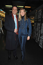COUNT & COUNTESS ALLESANDRO GUERRINI-MARALDI  at a party to celebrate the launch of Holly Peterson's debut novel 'The manny' held at Selfridges, Oxford Street, London on 26th February 2007.<br /><br />NON EXCLUSIVE - WORLD RIGHTS