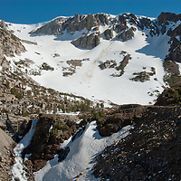 Tioga Pass and Lee Vining Canyon, near Yosemite National Park in California's Sierra Nevada.
