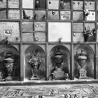 Milan Monumentale Cemetery, was commissioned in 1860 to unite the many small burial grounds throughout the city into one large cemetery, and was the first in Italy and one of the first in Europe to adopt cremation as a practice.