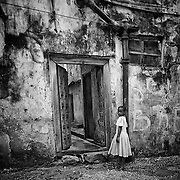 """""""Simple Beauty""""                                      Zanzibar<br /> She paused only for a moment at that doorway into the alley. It was a simple moment and a beautiful moment. I often wonder, where is she now?"""