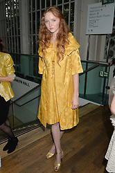 LILY COLE at The Women for Women International & De Beers Summer Evening held at The Royal Opera House, Covent Garden, London on 23rd June 2014.