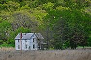 An abandon farmhouse near the town of Manhattan, Kansas.