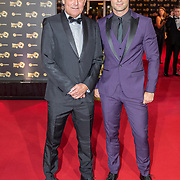 NLD/Amsterdam/20171012 - Televizier-ring Gala 2017, Jan Kooyman en vader Jan