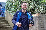 AFC Wimbledon midfielder Anthony Wordsworth (40) arriving during the EFL Sky Bet League 1 match between Southend United and AFC Wimbledon at Roots Hall, Southend, England on 16 March 2019.