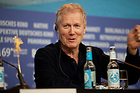 Director, Screenwriter Hans Petter Moland, at the press conference for the film Out Stealing Horses (Ut Og Stjæle Hester) at the 69th Berlinale International Film Festival, on Saturday 9th February 2019, Hotel Grand Hyatt, Berlin, Germany.
