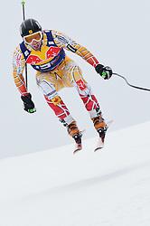 20.01.2011, Hahnenkamm, Kitzbuehel, AUT, FIS World Cup Ski Alpin, Men, Training, im Bild // Manuel Osborne-Paradis (CAN) // during the men´s downhill training run at the FIS Alpine skiing World cup in Kitzbuehel, EXPA Pictures © 2011, PhotoCredit: EXPA/ S. Zangrando