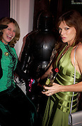 Carinthia West and Marella Oppenheim, Hot Ice party hosted by Dominique Heriard Dubreuil and Theo Fennell, ( Remy Martin and theo Fennell) at 35 Belgrave Sq. London W1. 26 October 2004. ONE TIME USE ONLY - DO NOT ARCHIVE  © Copyright Photograph by Dafydd Jones 66 Stockwell Park Rd. London SW9 0DA Tel 020 7733 0108 www.dafjones.com