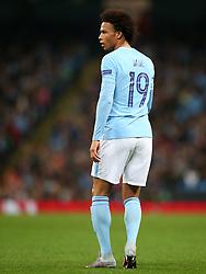 Leroy Sane of Manchester City - Mandatory by-line: Matt McNulty/JMP - 26/09/2017 - FOOTBALL - Etihad Stadium - Manchester, England - Manchester City v Shakhtar Donetsk - UEFA Champions League Group stage - Group F
