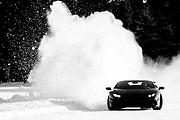 Lamborghini Winter Accademia program, Lac Sacacomie Quebec. , Corey Lewis