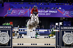 Kraut Laura, USA, Zeremonie<br /> Longines FEI World Cup Jumping Final IV, Omaha 2017 <br /> © Hippo Foto - Dirk Caremans<br /> 02/04/2017