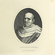 Vespasian (Vespasianus 17 November AD 9 – 24 June 79)[2] was Roman emperor from 69 to 79. The fourth and last in the Year of the Four Emperors, he founded the Flavian dynasty that ruled the Empire for 27 years. Copperplate engraving From the Encyclopaedia Londinensis or, Universal dictionary of arts, sciences, and literature; Volume XXII;  Edited by Wilkes, John. Published in London in 1827