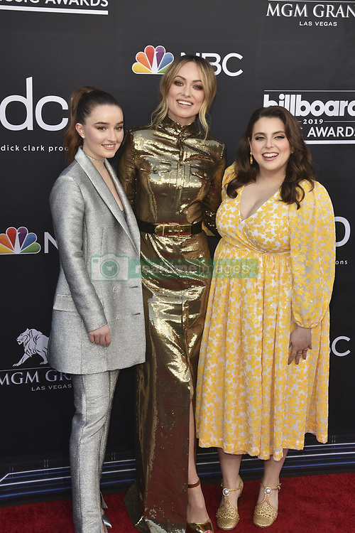May 1, 2019 - Las Vegas, NV, USA - LAS VEGAS, NEVADA - MAY 01: Kaitlyn Dever, Olivia Wilde, and Beanie Feldstein attends the 2019 Billboard Music Awards at MGM Grand Garden Arena on May 01, 2019 in Las Vegas, Nevada. Photo: imageSPACE (Credit Image: © Imagespace via ZUMA Wire)