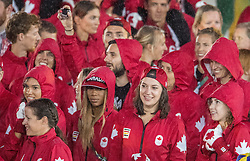 21-08-2016 BRA: Olympic Games day 22, Rio de Janeiro<br /> Rio neemt afscheid van de Olympische Spelen, sluitingsceremonie met veel dans, muziek en saaiheid / Canada