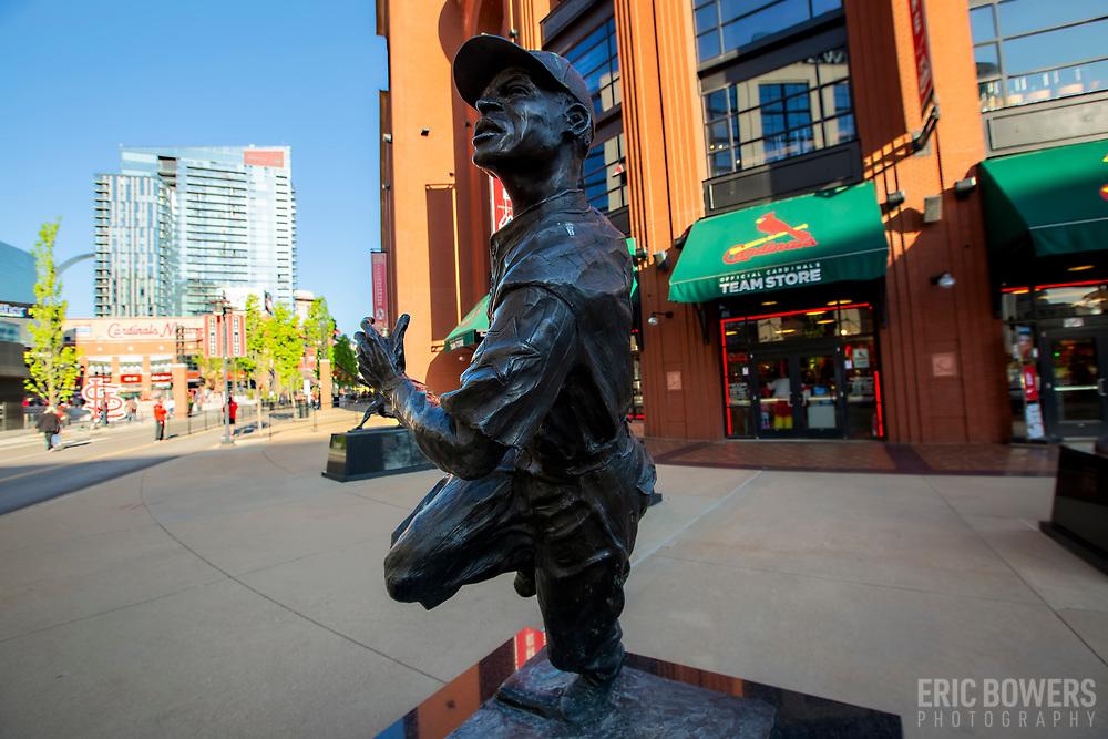 Cool Papa Bell Statue at Busch Stadium