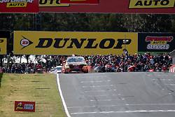 October 7, 2018 - Bathurst, NSW, U.S. - BATHURST, NSW - OCTOBER 07: David Reynolds / Luke Youlden in the Erebus Penrite Racing Holden Commodore leads over the line on the first lap at the Supercheap Auto Bathurst 1000 V8 Supercar Race at Mount Panorama Circuit in Bathurst, Australia on October 07, 2018 (Photo by Speed Media/Icon Sportswire) (Credit Image: © Speed Media/Icon SMI via ZUMA Press)