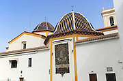 Parroquia de San Jaime y Santa Ana, parish church Saint James and Saint Anne, Benidorm, Alicante province, Spain