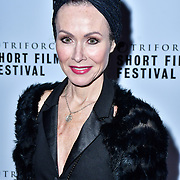 Amanda Mealing attend TriForce Short Festival, on 30 November 2019, at BFI Southbank, London, UK.