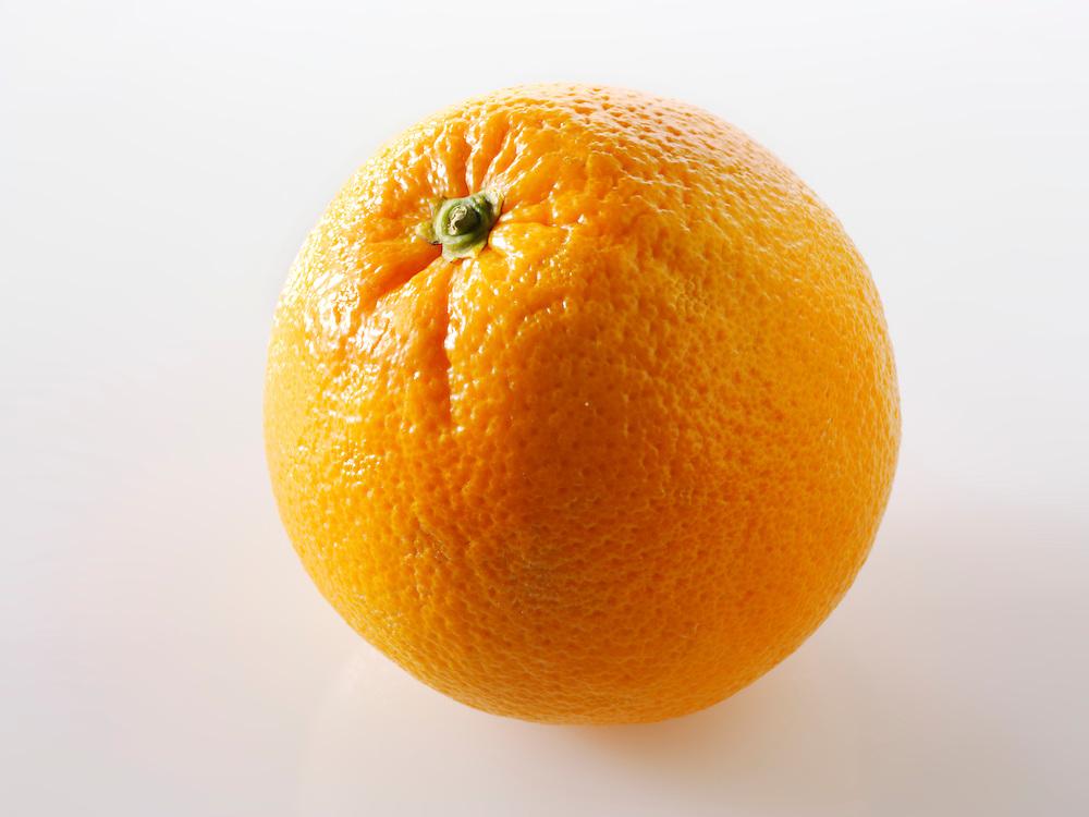 Fresh whole orange