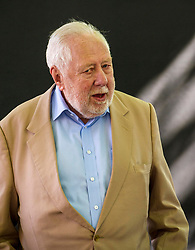 Pictured: Political Living Legend Roy Hattersley<br /> Book fanatics headed to Charlotte Square in Edinburgh which is the hub of the international Book Festival to meet the authors and also to meet up with fellow fans of the printed word.<br /> <br /> <br /> Ger Harley   EEm 14 August 2017