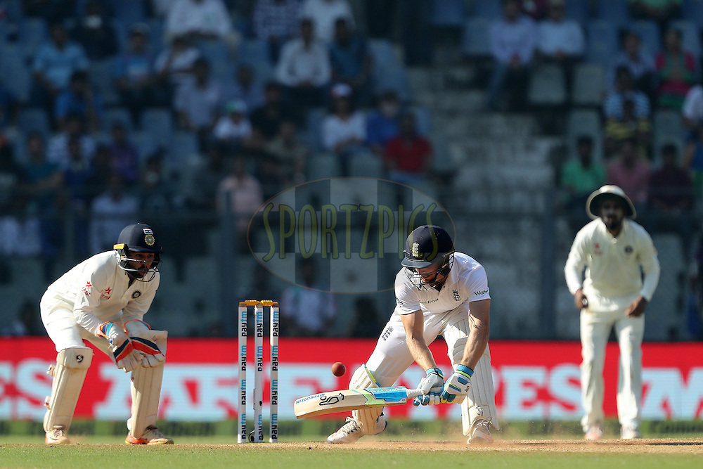 Jos Buttler of England during day 5 of the fourth test match between India and England held at the Wankhede Stadium, Mumbai on the 12th December 2016.<br /> <br /> Photo by: Ron Gaunt/ BCCI/ SPORTZPICS