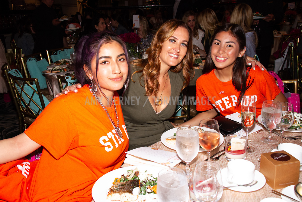 Apple Sponor Table with Step Up Girls