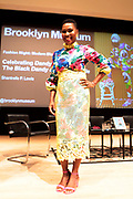Brooklyn, New York-June 1- United States: Author/Curator/Arts Educator Shantrelle P. Lewis attends the Brooklyn Museum's Fashion Night: Modern Black Dandies celebrating the art and style in honor of Author Shantrelle P. Lewis's new book ' Dandy Lion: The Black Dandy and Street Style held at the Brooklyn Museum on June 1, 2017 in Brooklyn, New York. (Photo by Terrence Jennings/terrencejennings.com)