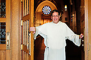 Rev. Thomas McDermott is Pastor at St. Vincent Ferrer Parish in River Forest. Tuesday, October 1st. © 2013 Brian J. Morowczynski ViaPhotos<br /> <br /> For use in a single edition of Catholic New World Publications, Archdiocese of Chicago. Further use and/or distribution may be negotiated separately. <br /> <br /> Contact ViaPhotos at 708-602-0449 or email brian@viaphotos.com.