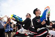 June 10-16, 2019: 24 hours of Le Mans. 7 Kamui kobayashi, Toyota Gazoo Racing, TOYOTA TS050 - HYBRID , 7 Mike Conway, Toyota Gazoo Racing, TOYOTA TS050 - HYBRID , driver's parade