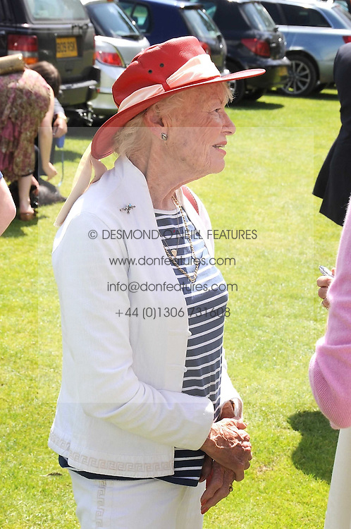 Left to right, EVE BRANSON and VISCOUNTESS COWDRAY at a Pro-Celebrity Polo match in aid of the Mark Davies Injured Riders Fund Charity Day held at Cowdray Park, West Sussex on 22nd June 2008.<br /><br />NON EXCLUSIVE - WORLD RIGHTS