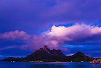 Mt. Otemanu,Bora Bora, French Polynesia.