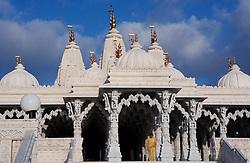 Stock photo of BAPS Shri Swaminarayan Mandir in Houston Texas
