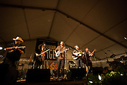 Trampled By Turtles at Mountain Stage at North House Folk School 2012