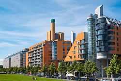 DaimlerChrysler office buildings on Linkstrasse at  Potsdamer Platz Square, Berlin, Germany,