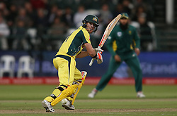 David Warner of Australia sets off for a run during the 5th ODI match between South Africa and Australia held at Newlands Stadium in Cape Town, South Africa on the 12th October  2016<br /> <br /> Photo by: Shaun Roy/ RealTime Images
