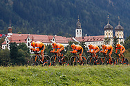 CCC Sprandi Polkowice during the 2018 UCI Road World Championships, Men's Team Time Trial cycling race on September 23, 2018 in Innsbruck, Austria - Photo Luca Bettini / BettiniPhoto / ProSportsImages / DPPI