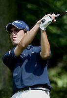 LEUSDEN - Xavier Ruiz-Fonhof .  Stern Open 2003 op de Hoge Kleij. COPYRIGHT KOEN SUYK