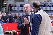 DESCRIZIONE : Trento Beko All Star Game 2016<br /> GIOCATORE : Massimiliano Menetti Giulio Ciamillo<br /> CATEGORIA : Fair Play Before Pregame Allenatore Coach<br /> SQUADRA : Cavit All Star Team<br /> EVENTO : Beko All Star Game 2016<br /> GARA : Beko All Star Game 2016<br /> DATA : 10/01/2016<br /> SPORT : Pallacanestro <br /> AUTORE : Agenzia Ciamillo-Castoria/L.Canu