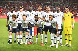 France team during Euro 2020 group H qualifying soccer match between Turkey and France at the Konya City Stadium in Konya, Turkey, June 8, 2019. Photo by Abdurrahman Antakyali/Depo Photos/ABACAPRESS.COM