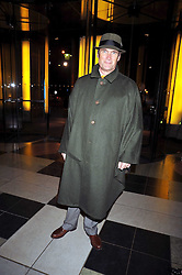 A A GILL at the Orion Publishing Group Author Party held at the V&A, London on 18th February 2009.