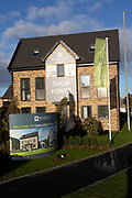 Barratt Homes housing development, Canalside, Wichelstowe, Swindon, England, UK