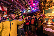 Frabert Award ceremony each Wednesday evening at the Bierstube at Whitefish Mountain Resort in Whitefish, Montana, USA