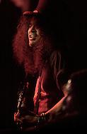 Slash, from Slash's Snake pit played at Heartland on Friday night.   Santiago Flores/ photo mac 1/ punch 030901