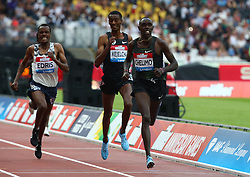 July 21, 2018 - London, United Kingdom - Paul Chelimo of USA (Winner) compete in the 5000m Men.during the Muller Anniversary Games IAAF Diamond League Day One at The London Stadium on July 21, 2018 in London, England. (Credit Image: © Action Foto Sport/NurPhoto via ZUMA Press)